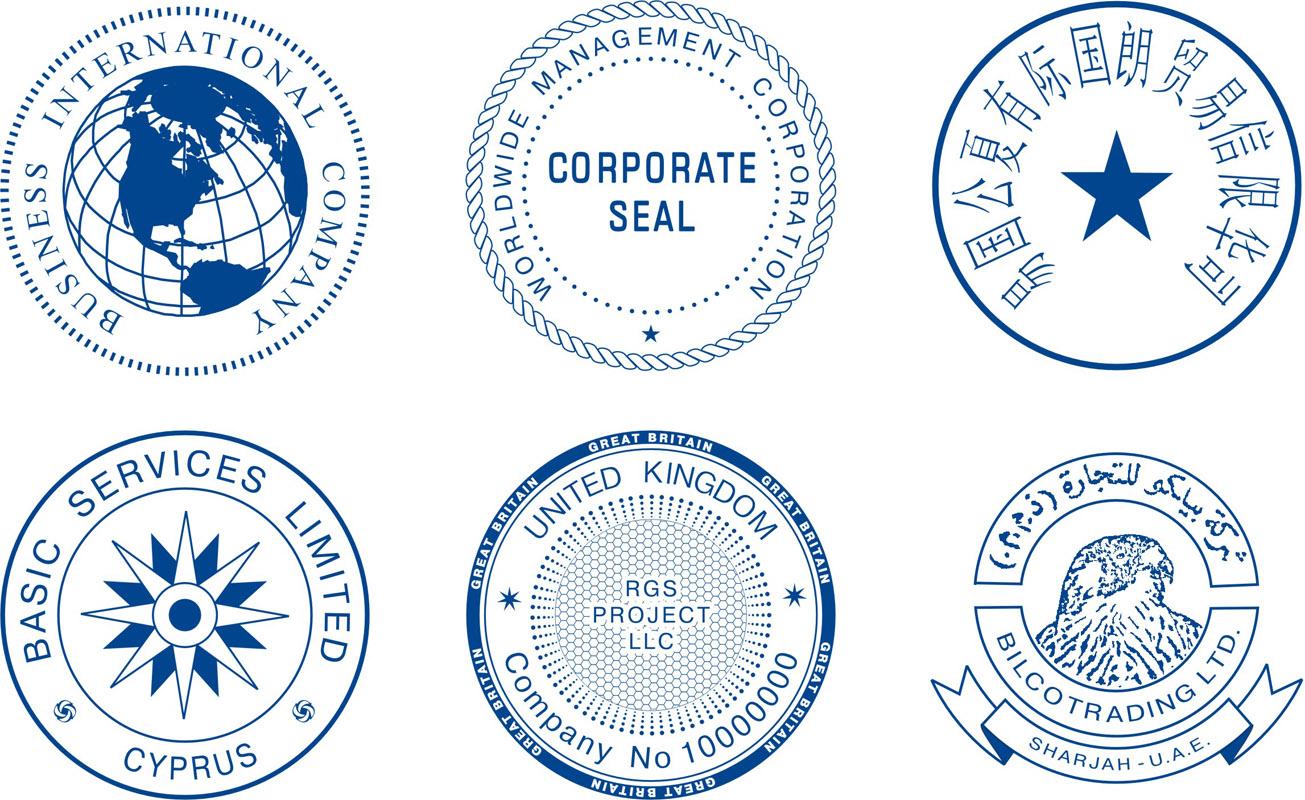 печать представительства иностранной компании
